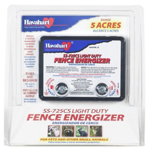 Electric Fence Charger Energizer Ac Powered 5 Acre Range Horse Deer Cow Goat