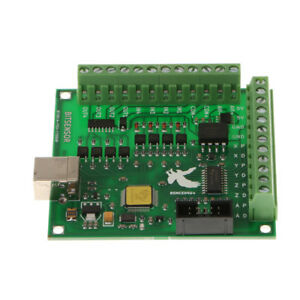 Breakout Board 4 Axis Cnc Electronics Combo Motion Controller Card