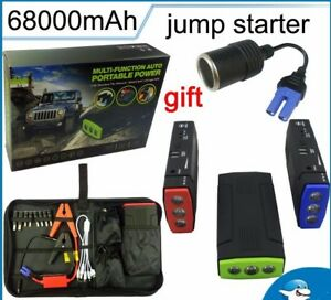 Emergency Battery Charger Car Jump Starter Multi function Boosters Mini Portable