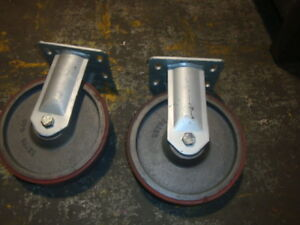Lot Of Two Revvo 649 Super Heavy Duty Casters Ridgid 9