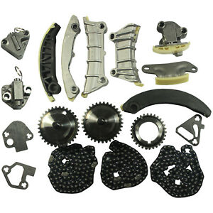 Timing Chain Kit With Gears For 2007 2014 2015 Gmc Chevy Chevrolet 3 0l 3 6l V6