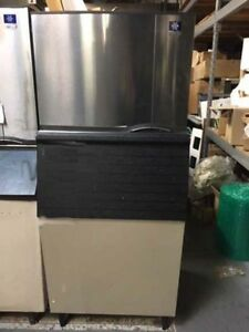Manitowoc Ice Maker With Ice Storage Sy0454a