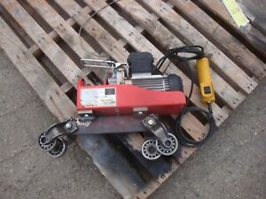 Chicago Electric 220lb Single 440lb Double Electric Hoist With