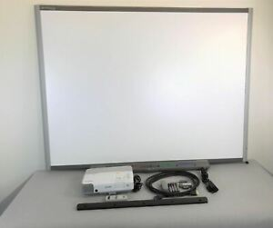Smartboard Sb680 Bundle Epson 93 Projector No Software W Hdmi Usb Accessorie