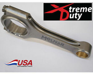 Molnar Xtreme Duty Nitrous turbo Bbc Chevy 6 385 H beam Billet Rods