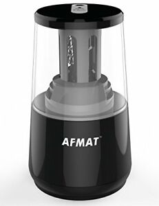 Afmat Heavy Duty Electric Pencil Sharpener Battery Operated Pencil Sharpeners W