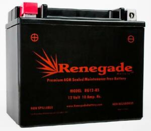 Yamaha Ef3000iseb Generator Replacement Battery Rg12 bs Ytx12bs Ytx12 bs