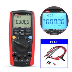 Uni t Ut71e Digital Multimeter Usb Interface Frequency Meter 2500w True Rms