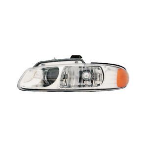 Fits 96 99 Town country Caravan Driver Left Side Quad Bulb Headlight Lamp Lh