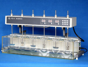Dissolution Tester Tablet Capsule Dissolution Tester Six Vessels Rc 6