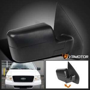 2004 2006 Ford F150 Manual Non Powered Foldable Side Mirror Right Passenger Side