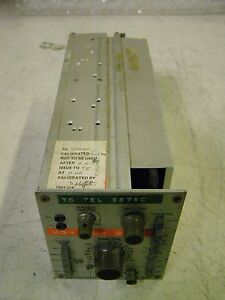 Telequipment S1a Single Sweep Time Base Plug In Module S1a