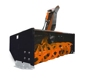 66 Snow Blower Standard Flow Skid Steer Loader Attachment Bobcat Kubota Asv