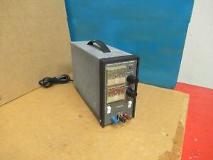 Takasago Regulated Dc Power Supply Tm07 5 0 8v Volts 0 5a A Mps Used