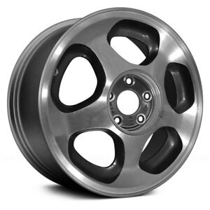For Ford Mustang 94 98 Factory Alloy Wheel 17 5 slot Charcoal Gray Factory