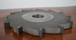 Milling Cutter Slitting Saw M s 5863 6 X 1 2 X 1 Carbide Tips