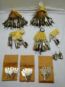 Rare Kaba Gemini Kik High Security Lock System 25 Cylinders Locksmith Special
