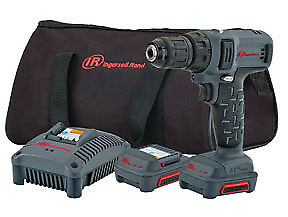 Ingersoll Rand D1130 k2 12v 3 8 Dr Drill Driver Kit With 2 Batteries Charger