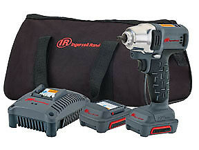 Ingersoll Rand W1120 K2 1 4 12v Cordless Hex Quick Change Impact Wrench Kit