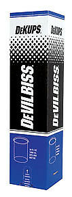 Devilbiss Dpc600 Dekups Gravity Feed 34 Oz 1000 Ml Disposable Cups And Lids