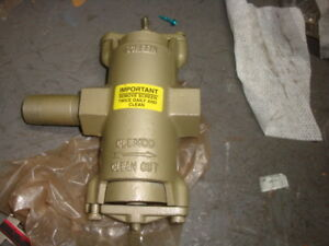 Clemco Clean Out Inlet Valve Nos Free Shipping