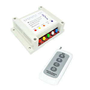 Ac85 265v Wireless Smart Switch W Remote Control For Home Automation 2