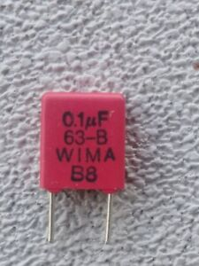 200pcs wima 0 1uf 63 b Polyester Film Capacitors