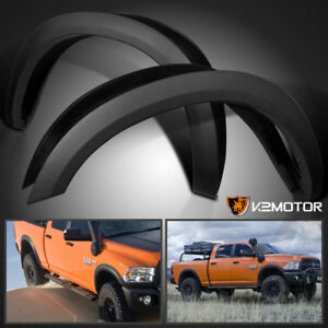 2010 2017 Dodge Ram 2500 3500 Factory Style Bolt On Fender Flares Smooth Covers
