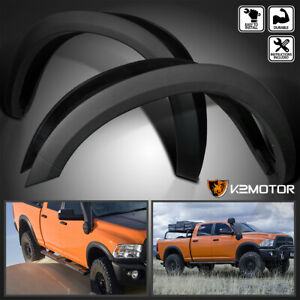For 2010 2017 Dodge Ram 2500 3500 Factory Bolt On Fender Flares Smooth Covers