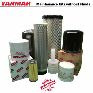 Yanmar Tracked Loader Maintenance Kit t175 1 no Fluids