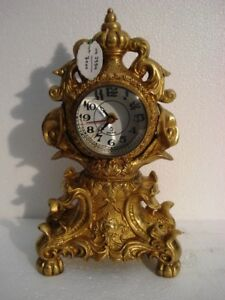 Large Antique Style Brass Tower Clock Heavy Weight Best Collection 2954