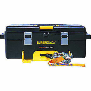 Superwinch 1140232 Winch2go 12v Portable Winch 4000 Lb Capacity Synthetic Rope