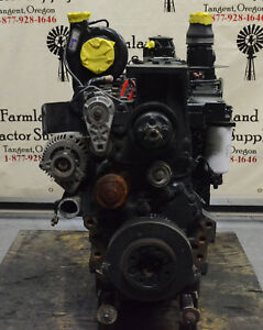 Ts115a Mxu115 New Holland Case ih Engine Fpt F5d 6 Cyl Diesel Engine 87802386