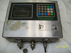 Toledo Stainless Digital Scale Operator Interface 8142 1007