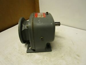 Dayton 4z729a 12 1 Ratio Inline Gearbox Speed Reducer 1725rpm 1hp 5 8 x1