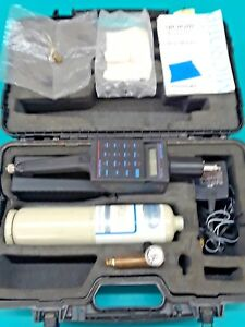 Photovac Hl 2000 Microtip Hand held Air Analyzer With Case For Parts Or Repair