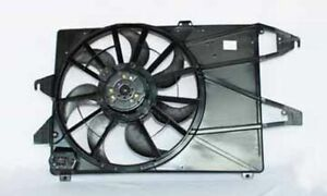 New Tyc 620290 Radiator Condenser Fan Assembly For 1995 2000 Contour Mystique