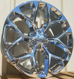 Chrome Chevy Silverado Tahoe Gmc Sierra Suburban Ck156 Escalade Wheels Rims