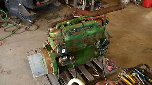 John Deere 6329 6 Cyl Diesel Engine Great Running Engine