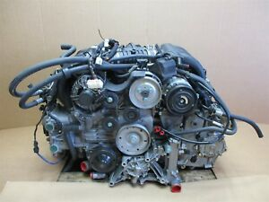 03 Boxster S Rwd Porsche 986 Complete Engine 3 2 Motor M96 24 M96 24 87 241
