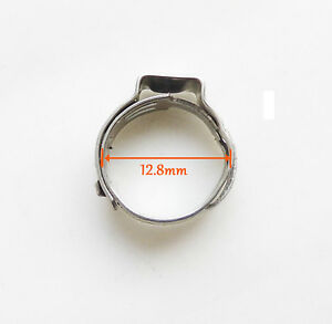 1000 X12 8mm Stainles Steel Ear Clamp Cinch Rings Crimp Pinch Fitting 3 8 Pex