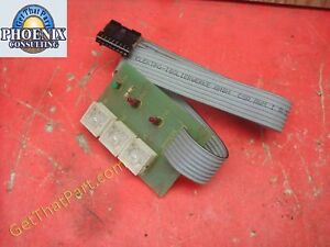 Sem 244 Paper Shredder Oem Main Control Panel Board Switch Assembly