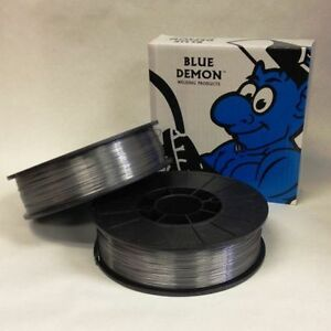 E71t 11 030 Gasless Flux Core Mig Welding Wire 10lb Spool Blue Demon 2 Pack