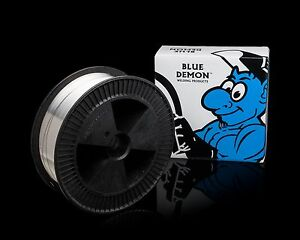 E71t 1 1m 035 Flux Core Welding Wire Mig 33 Lb Spool Blue Demon Requires Gas