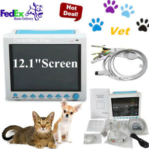 Contec Vet Veterinary Icu Patient Monitor 6 Parameter Vital Signs pets Use Usa