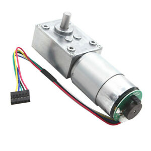 24v Electrical Speed Reducer 16rpm Gear Reduction Motor Dc Motor W Encoder