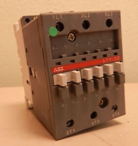 Abb A75 30 Open Contactor 105 Amp 600v used