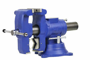 Yost 5 Heavy duty Multi jaw Rotating Combination Pipe And Bench Vise