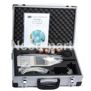 Tes 1358c Sound Analyzer Sound Level Meter Real Time 1 1 1 3 Octave Band Analys
