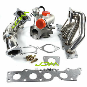 For Mazda Cx 7 2 3l K0422 Turbocharger Exhaust Manifold Header 3 Downpipe